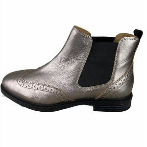 HUSH PUPPIES Bounce Metallic Ankle Boot NWT
